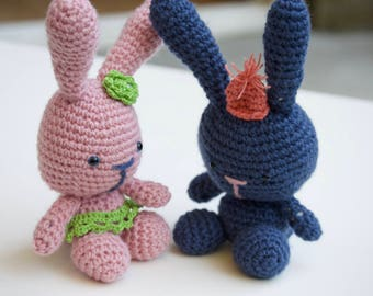 Crochet handmade rabbit HANDMADE TO ORDER