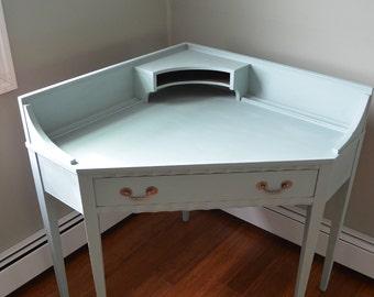 Vintage Painted Corner Desk - PICK UP ONLY