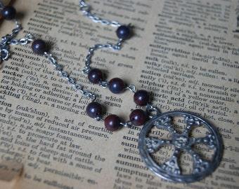 Catherine Wheel Necklace