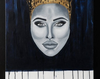 Acrylig Gold Painting