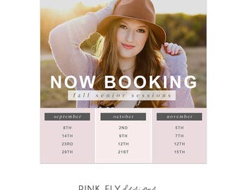 Now Booking | Available Dates | Social Media Post | Instagram Post