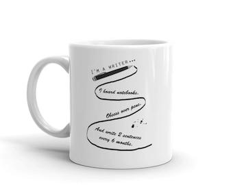 I'm A Writer Writers Gift Coffee 11oz Mug Bookish Bookworm Gifts