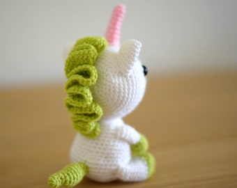 Unicorn crochet Häkeltier handmade Unicorn stuffed animal Amigurumi