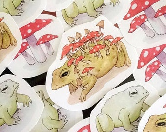 Toadstool Stickers