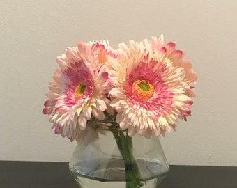 Pink Gerbera Daisy Arrangement