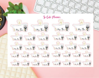 Me Time stickers, Lazy Day Relax reminder Stickers, Functional stickers, Two Dollar Tuesday Erin Condren Happy Planner Sticker