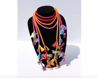Udon 'Gypsy Queen' Boho Chic Necklace