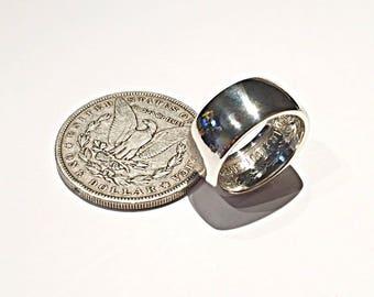 Morgan dollar (coin ring) coin ring