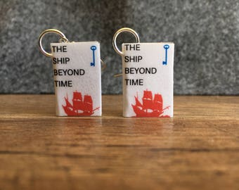 The Ship Beyond Time Earrings