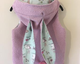 Handmade Children's Bunny Vest