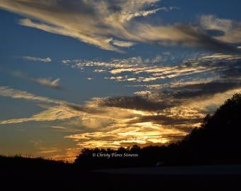 Sunset in Georgia