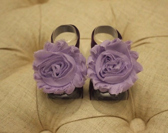 baby shoes, baby girl, girl shoes, purple shoes, baby sandals, The Beth Ann Petals
