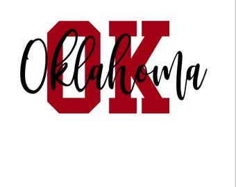 Oklahoma SVG/PNG/DXF