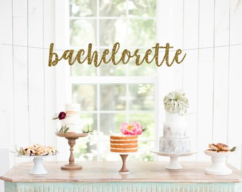 Bachelorette party banner engagement party decorations bachelorette banner engagement banner bridal shower banner bachelorette decorations