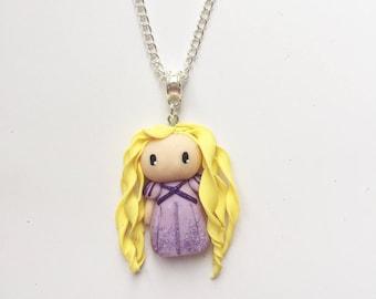 Rapunzel Princess necklace
