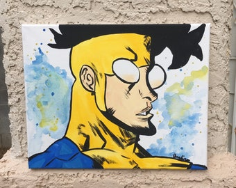 Invincible Canvas Painting