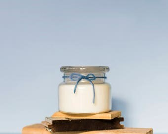 Betley   Medium Nectarine & Mint   Natural Soy Candle   Handmade   Social Enterprise