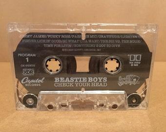 Beastie Boys 'Check Your Head' Cassette Tape 1992