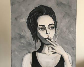 Hollow - Arcylic on Canvas