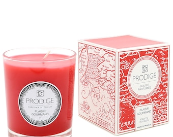 Scented candle red fruits