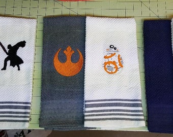 Star Wars Embroidered Kitchen/Bar Towel