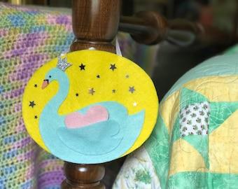 Swan Tooth Fairy Pocket