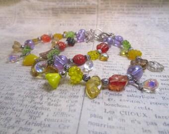 spring flower bracelets