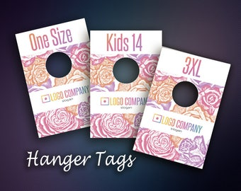 Hanger Tags, Size Divider for Clothes Racks,Clothing Rack Dividers,Instant Download, Digital Files, Home Office Approved Color&Fonts