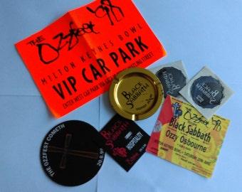 Vintage Ozzfest '98 memorabilia collection