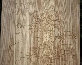 Carved Ash Waterways Map