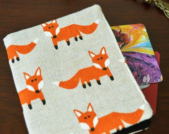 Fox Wallet, Card Holder, Credit Card Holder, Bus Pass Holder, Travel Card Holder, Business Card Holder, Pass Case, Card Wallet, Fox Lovers