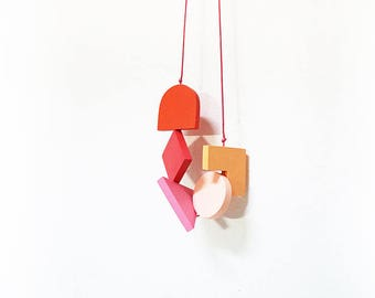 LOVED Necklace - Multi Colors M009