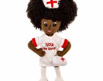 Nola The Nurse® doll and portable nurse practitioner medical box.
