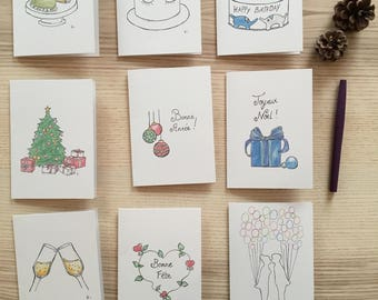 My social network in stationery - free shipping