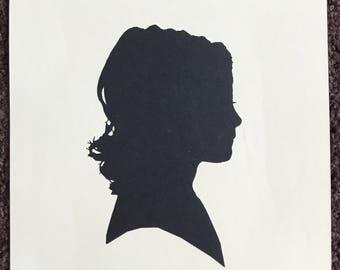 Custom Profile Silhouette