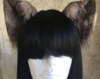Realistic Wolf Ears
