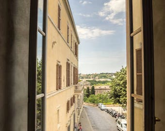 View from Roman Window/Rome Italy