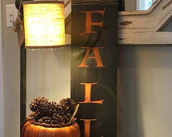 Hello Fall, Fall Sign, Thanksgiving sign, Wood Sign, Festive Sign, Fall Decor, Rustic Sign, wall hangings, Wall Decor