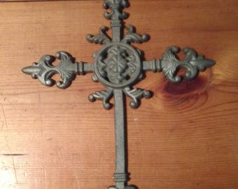 Cast iron 4 point cross