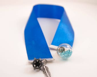 Ribbon Bookmark 'Royal'