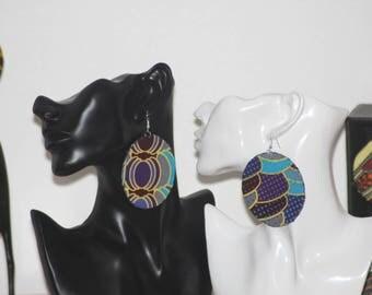 earrings, african fabric earrings, ankara, jewellery, accessories, african earrings, ankara earrings, afrocentric earrings