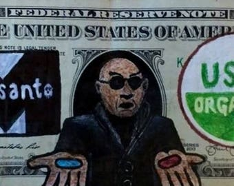 What If I Told You? (MoneyArt by CMOR)