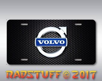 "Volvo Novelty License Plate Aluminum 6""x12"" New"