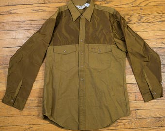 Vintage Duxback Water Resistant Button Up