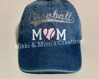 Customized/Personalized Denim Baseball Hat