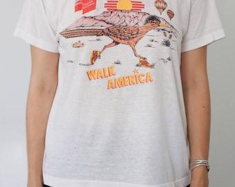 """Roadrunner """"Walk America"""" T-shirt"""