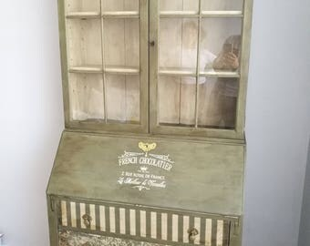 Vintage bureau bookcase