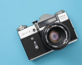 Rare Limited Edition Zenit-E (Moscow 1980) Olympic Analog SLR