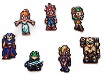 Chrono Trigger Party Members Sprites