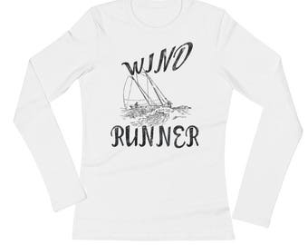 Wind Runner Spartees Ladies' Long Sleeve T-Shirt